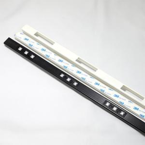 LED メテオ モジュール 取り付けモール 1m ホワイト ブラック|illumica-y