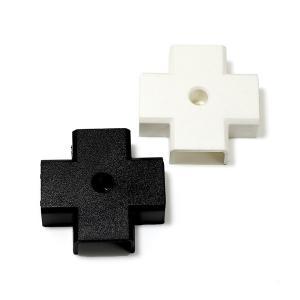 LED メテオ モジュール 十字 コーナー パーツ ホワイト ブラック|illumica-y