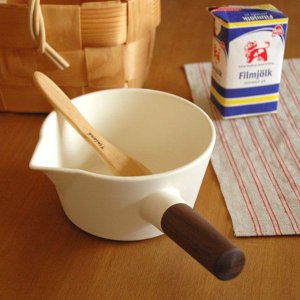 4th-market リコッタ ミルクパン(ミニ手鍋) 白...