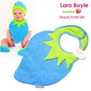 赤ちゃんスタイ よだれかけ ララボイル 着せるよだれかけ ストロベリービブ サマーベリー|ilovebaby