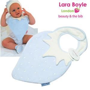赤ちゃんスタイ よだれかけ ララボイル 着せるよだれかけ ストロベリービブ シャイベリー|ilovebaby