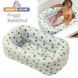 ベビーバス ビニールプール マミーズヘルパー フロッギー・バス&プール|ilovebaby