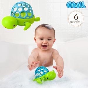 バストイ バスグッズ 動くおもちゃ おふろのおもちゃ お風呂玩具 オーボール ワインド&スイム・タートル 10065|ilovebaby