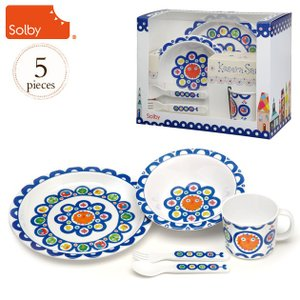 食器セット 離乳食 ベビー食器 プレゼント Solby(ソルビィ)  ケセラセラ食器セット/こぺこぺソレイユ FDSB103000|ilovebaby