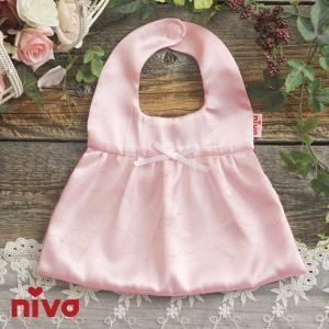 スタイ よだれかけ 新生児 niva(二ヴァ) バレエ ビブ  178PNK ilovebaby