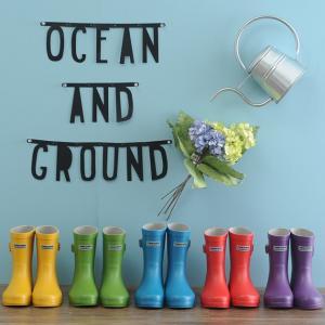 レインブーツ 雨靴 長靴 こども 通園 OCEAN&GROUND(オーシャンアンドグラウンド) レインシューズ|ilovebaby