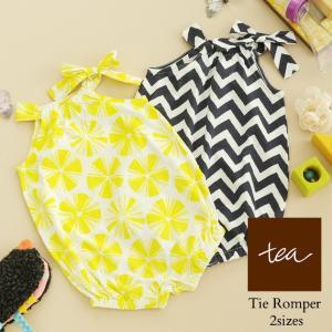 赤ちゃん ベビー ロンパース 出産祝い つなぎ tea collection(ティ コレクション) Tie Romper|ilovebaby