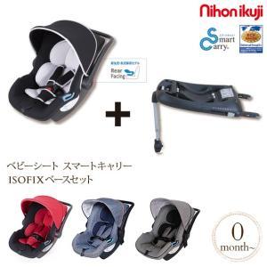 対象年齢:新生児〜15ヶ月頃まで(〜13kg)  約W44×D68×H58cm(チャイルドシート・キ...