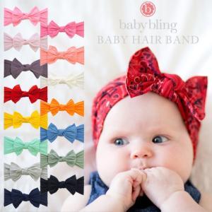 BabyBling (ベビーブリング) ベビー ヘアバンド クラシックノット|ilovebaby