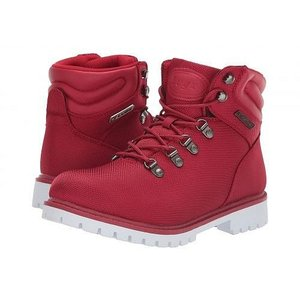 Lugz ラグズ レディース 女性用 シューズ 靴 ブーツ 安全靴 ワークブーツ Grotto II - Mars Red/White|ilovela