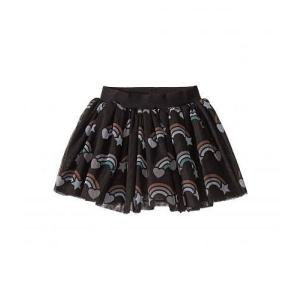 HUXBABY 女の子用 ファッション 子供服 スカート Rainbow Tulle Skirt (...