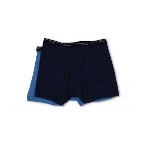 2bc710413e0294 Jockey ジョッキー メンズ 男性用 ファッション 下着 Big Man Cotton Boxer Brief 2-Pack - Indigo  Dye/True Blue