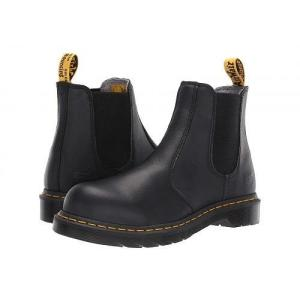 Dr. Martens Work ドクターマーチン レディース 女性用 シューズ 靴 ブーツ 安全靴 ワークブーツ Arbor Steel Toe Chelsea Boot - Black|ilovela