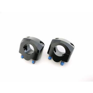 テーパーハンドルクランプキット ブラック 22.2mm→28.6mm im-trading