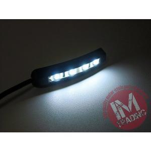 LEDナンバー灯 曲面OK 両面テープ貼り付け 汎用品 ビューエル トライアンフ ドゥカティ KTM アプリリア等に|im-trading