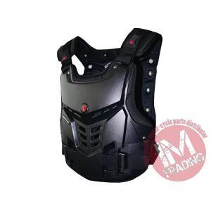 SCOYCO バイク用チェストガード 胸部プロテクター ブラック 各サイズ有りAM05|im-trading