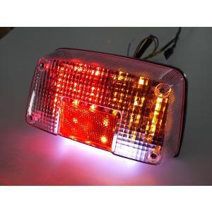 GSX400Sカタナ GSX250Sカタナ用 LEDウインカー付きテールランプ クリアレンズ ナンバー灯付き|im-trading