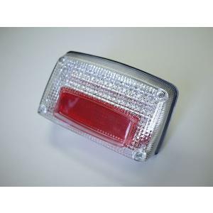 GSX1100S GSX750Sカタナ用 LEDテールランプ クリアレンズ  ナンバー灯付き|im-trading