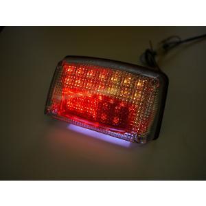 GSX1100S GSX750Sカタナ用 LEDウインカー付きテール クリアレンズ ナンバー灯付き|im-trading