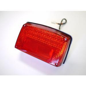 GSX1100S GSX750Sカタナ用 LEDテールランプ レッドレンズ  ナンバー灯付き|im-trading