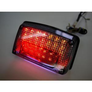GSX1100S GSX750Sカタナ用 LEDウインカー付きテール スモークレンズ ナンバー灯付き|im-trading