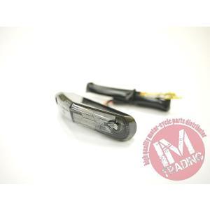 ミニLEDテールランプ スモークレンズ ナンバー灯付き 汎用品 DRZ400SM RMX250 SB250 DR250 TS250等に|im-trading