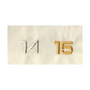 名入れ刺繍 文字の追加(11文字以上)カラー金・銀 文字の大きさ2cm角