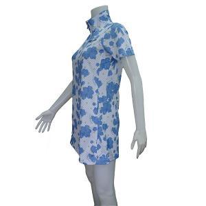 マリクレール レディス 半袖チュニックシャツ 718402 image-golf 02