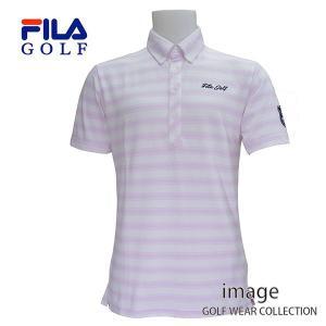 60%off FILA フィラ メンズ 半袖B・Dボーダー シャツ 746664|image-golf