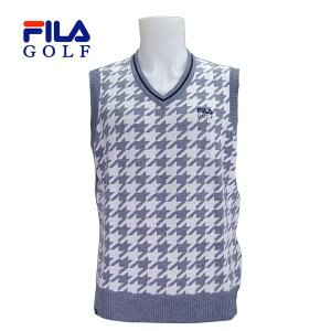 FILA  ゴルフ メンズ Vネック ニットベスト 786860|image-golf