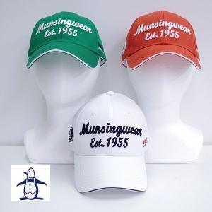 マンシング ウェア メンズ コットンキャップ AM3259|image-golf