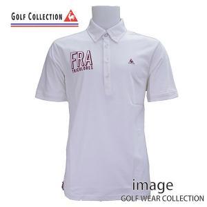 50% off ルコック ゴルフ メンズ  LL,3L 半袖シャツ QG2923|image-golf