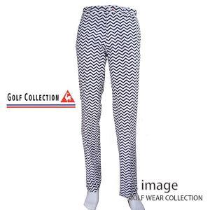 50%OFF! ルコックゴルフ メンズ ストレッチ プリントパンツ QG8484|image-golf