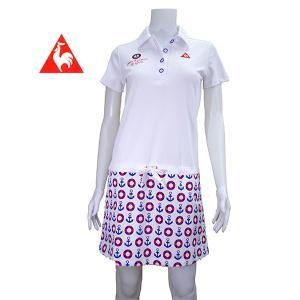 50%OFF! ルコック ゴルフ レディス 半袖ワンピース QGL2606|image-golf