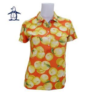 65% off マンシングウェア レディス 半袖 プリントシャツ SL1637 image-golf