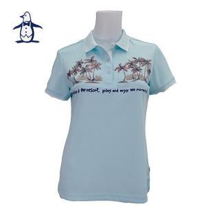 605おffマンシングウェア レディス 半袖 ポロシャツ SL1640 image-golf