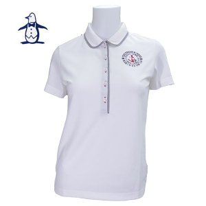マンシングウェア レディス 半袖 ポロシャツ SL1666 image-golf
