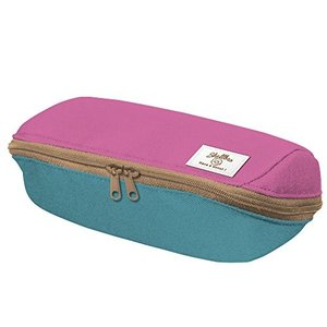 コクヨ ペンケース 筆箱 大容量 シェルブロ 限定 ミスタードーナツ柄 ローズ×ミント F-VBF190-L2の商品画像|ナビ