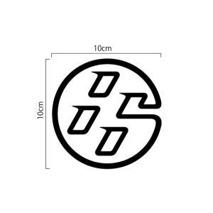 トヨタ TOYOTA 86 エンブレム 切抜きステッカー 10cm|imagine-style