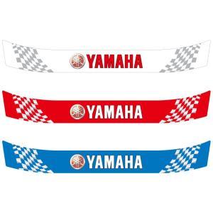 ヘルメット バイザーステッカー ヤマハ YAMAHA 02 アライ Arai GP-5・GP-5S・SK-5・GP-6・GP-6S・SK-6ヘルメット対応|imagine-style