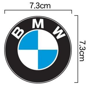 BMW エンブレム カラー ステッカー フラットデザイン(デカール シール) 7.3cmサイズ|imagine-style