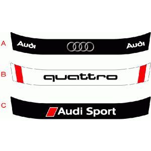 ヘルメットバイザーステッカー Audi アライ Arai GP-5・GP-5S・SK-5・GP-6・GP-6S・SK-6ヘルメット対応|imagine-style