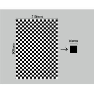 3M オリジナル チェッカー柄 ラップフィルム シール A4サイズ グロス 21cm×30cm|imagine-style