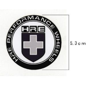 HRE Performance Wheels ステッカー ブラック 数量限定|imagine-style