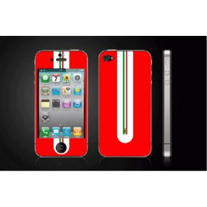iPhone 4  4S iPhone 5 iPhone 5S  対応保護シール アイフォン用 Ferrariラインデザイン|imagine-style