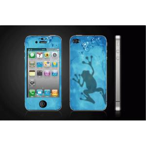 iPhone 4  4S iPhone 5 iPhone 5S  対応保護シール アイフォン用 カエルデザイン|imagine-style