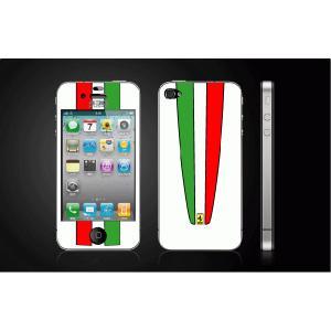 iPhone 4  4S iPhone 5 iPhone 5S  対応保護シール アイフォン用 Ferrari430-白 デザイン|imagine-style