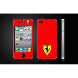 iPhone 4  4S iPhone 5 iPhone 5S  対応保護シール アイフォン用 Ferrariデザイン|imagine-style