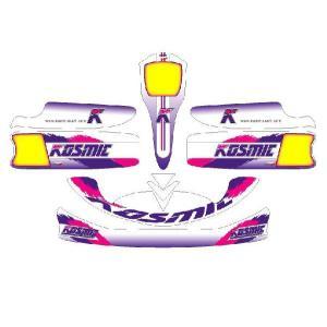 レーシングカート用 カウルステッカー M3用KOSMIC仕様1 特注品|imagine-style