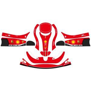 レーシングカート用 カウルステッカー フリーライン用Ferrari2013仕様 特注品|imagine-style